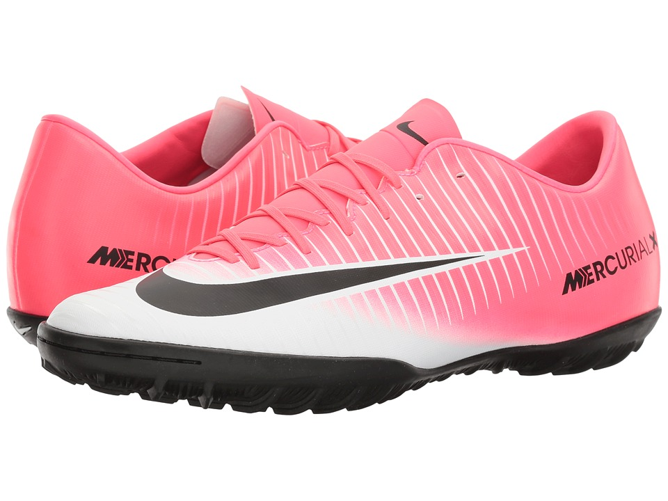Nike - Mercurial Victory VI TF (Racer Pink/Black/White) Men's Soccer Shoes