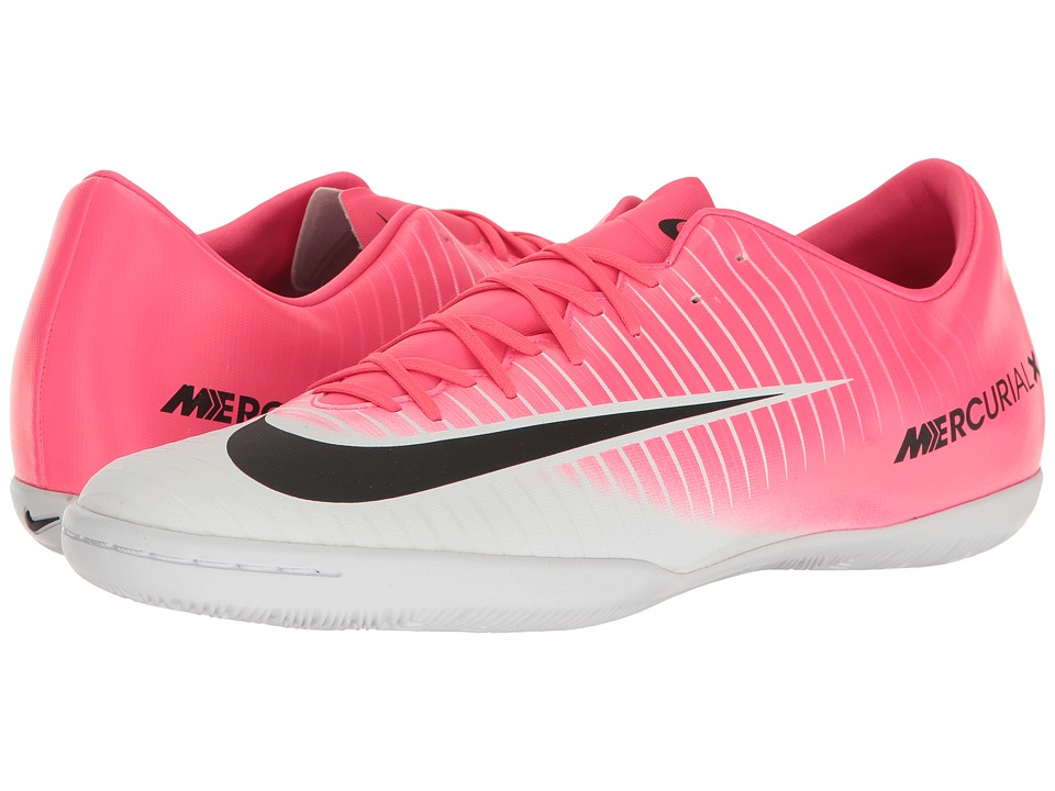 Nike - Mercurial Victory VI IC (Racer Pink/Black/White) Men's Soccer Shoes