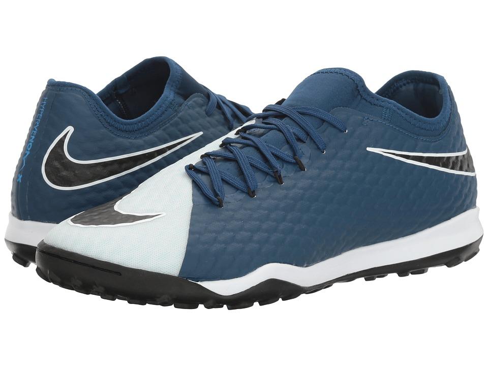 Nike - HypervenomX Finale II TF (Photo Blue/Black/Chlorine Blue) Men's Soccer Shoes