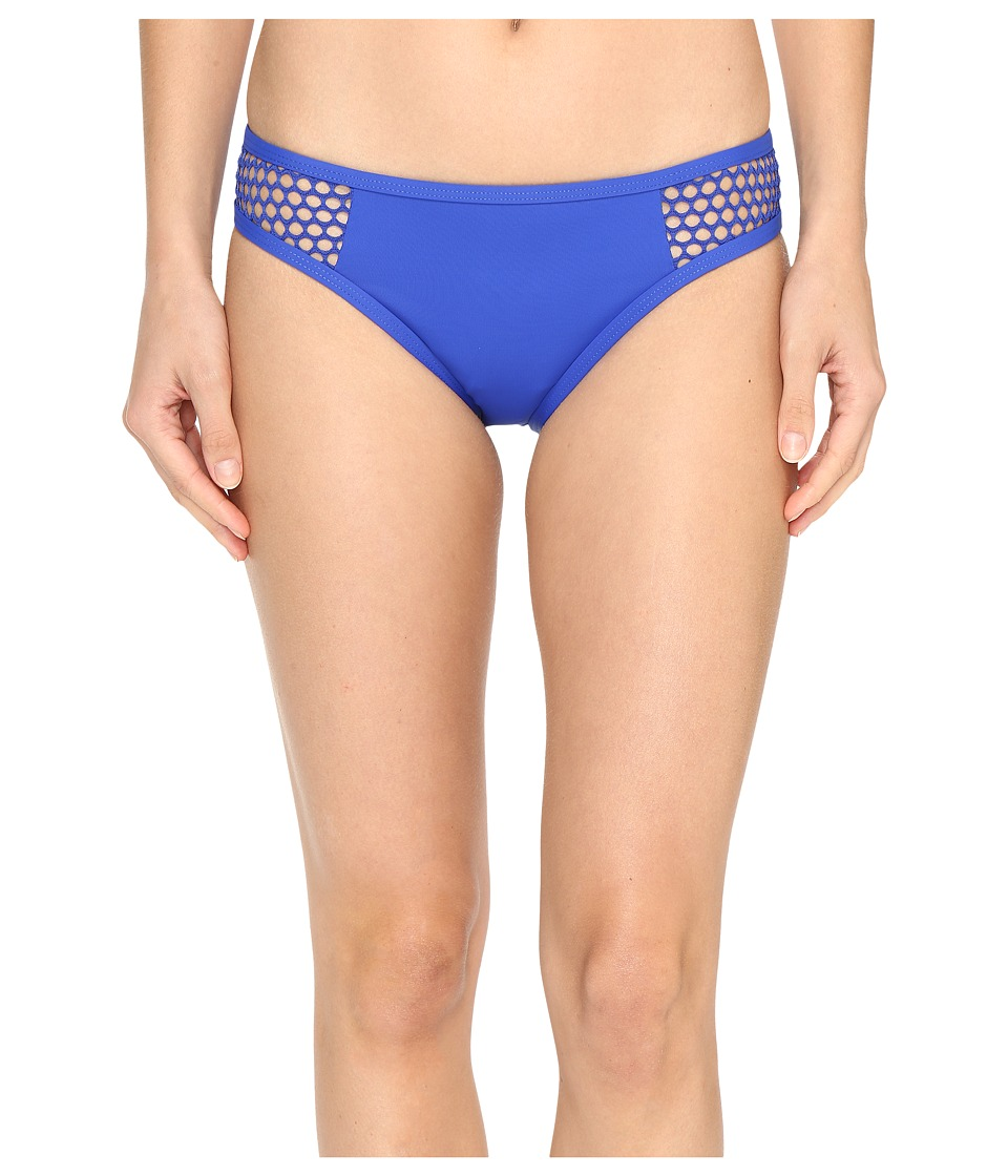 La Blanca - All Meshed Up Hipster (Sapphire) Women's Swimwear