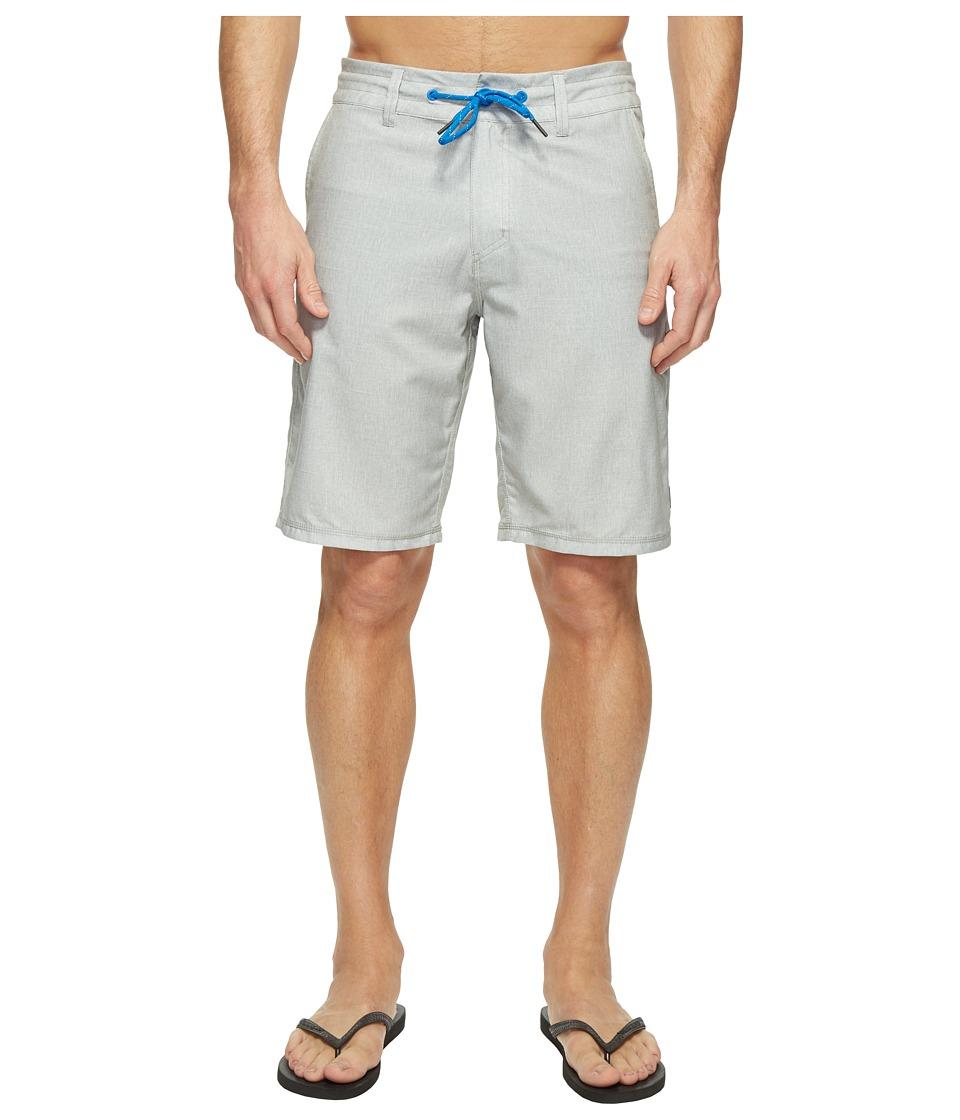 Oakley - Base Jump Hybrid 21 Shorts (Stone Grey) Men's Shorts