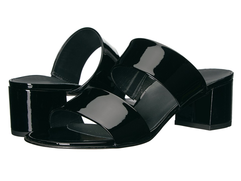 Paul Green - Meg Sandal (Black Patent) Women's Shoes