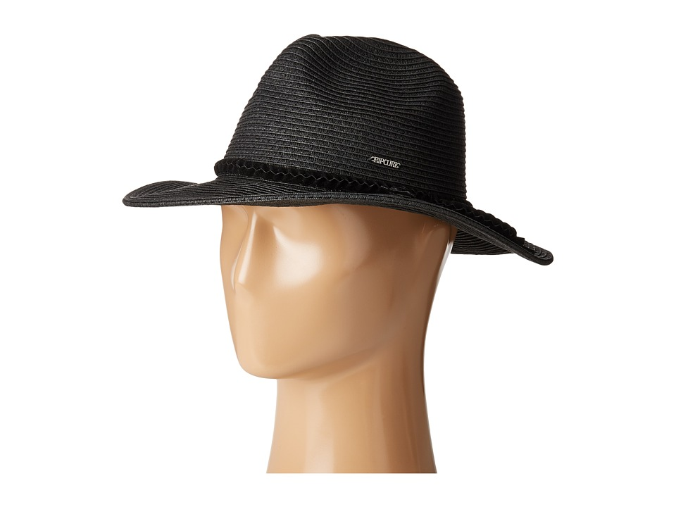 Rip Curl - St Tropez Panama (Black) Traditional Hats