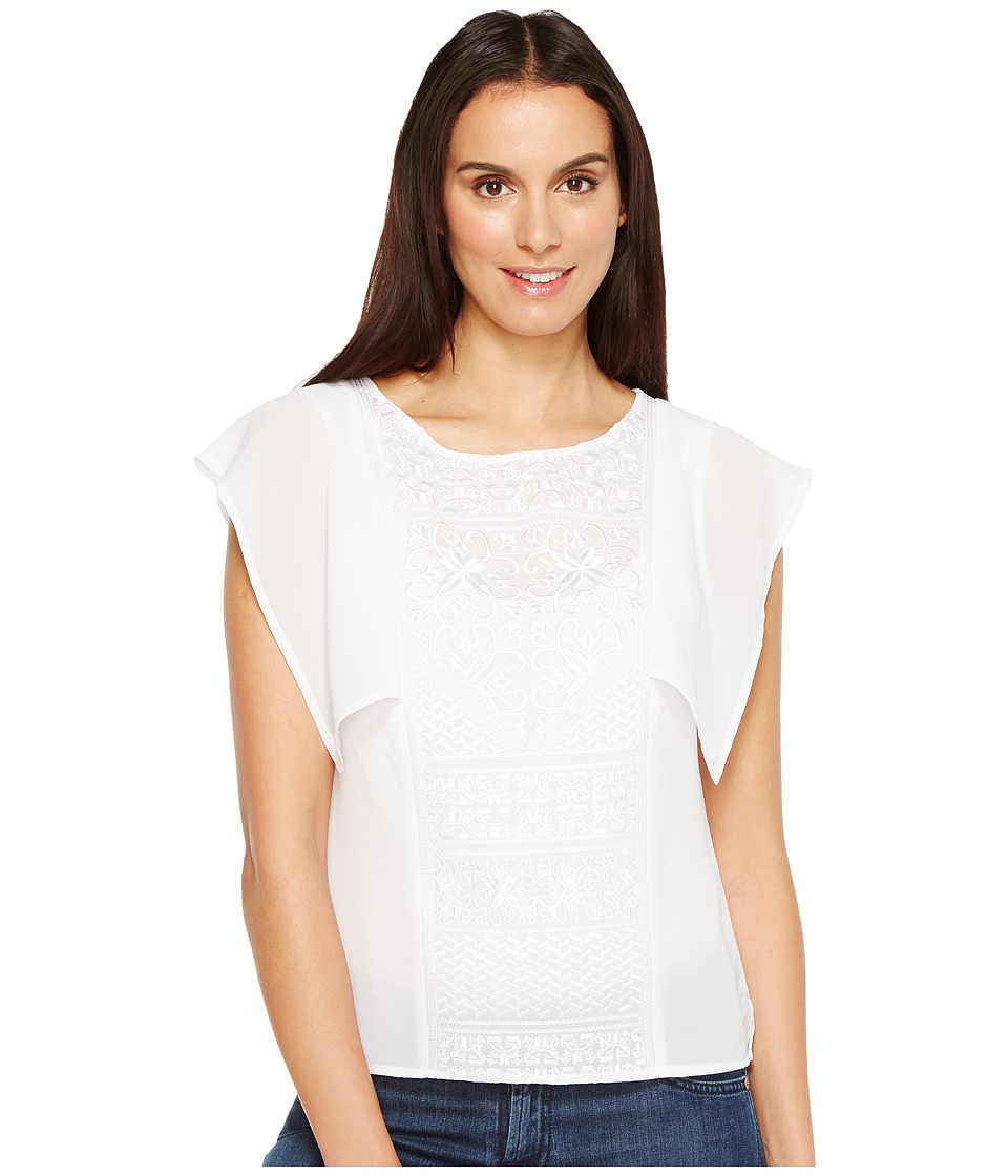 Ariat - Flamenco Top (White) Women's Clothing