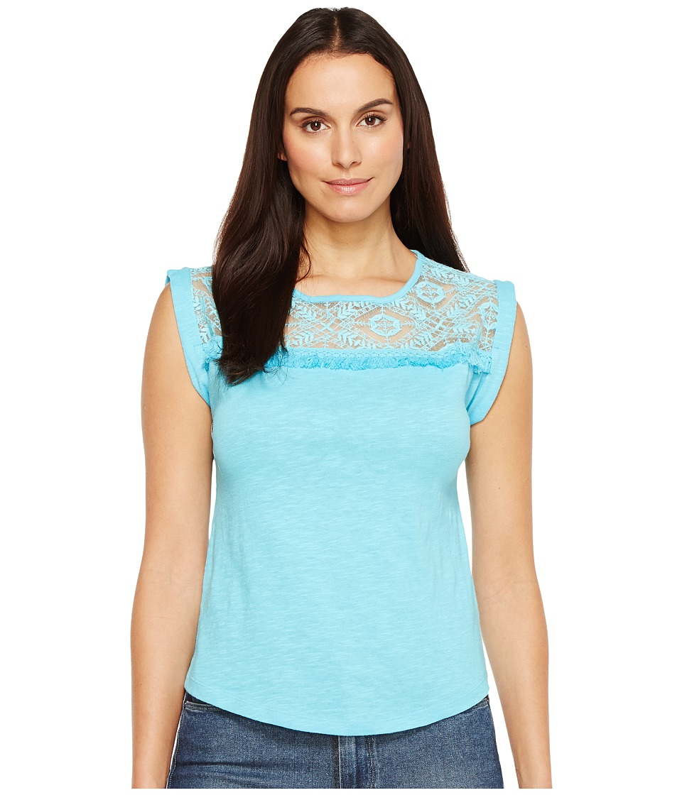 Ariat - Rita Top (Aqua Wave) Women's Clothing