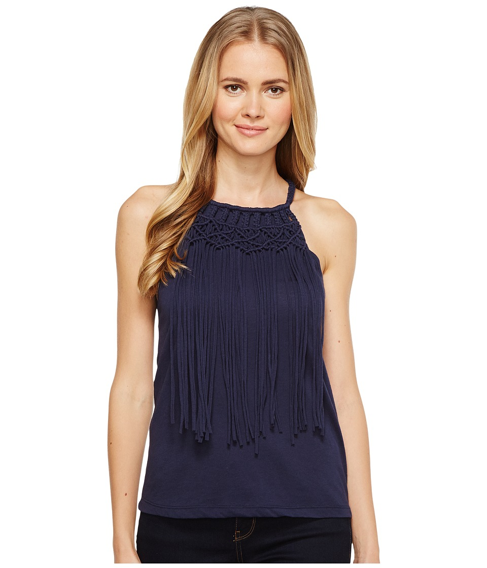 Ariat Fringe Tank Top (Navy Eclipse) Women