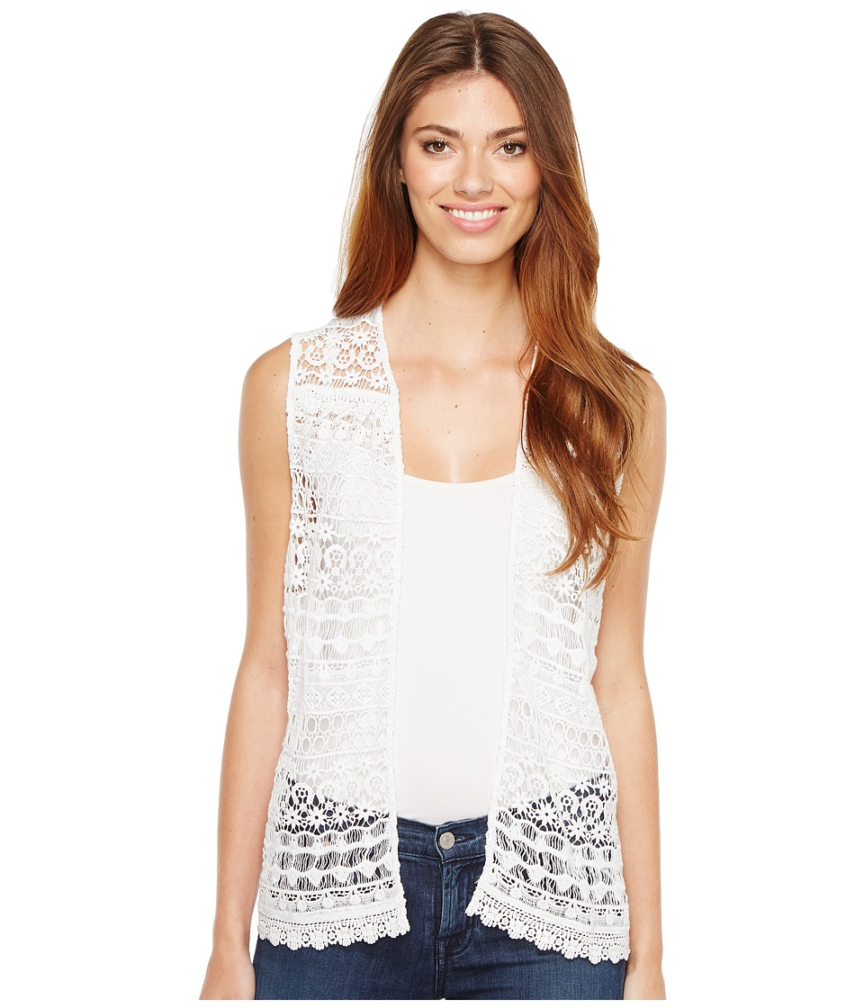 Ariat - Lace Vest (White) Women's Vest
