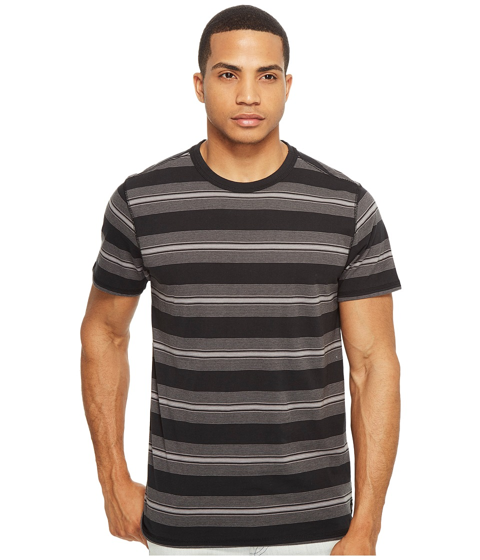 Tavik - Newport Short Sleeve Knit (Black/Grey 2) Men's Clothing