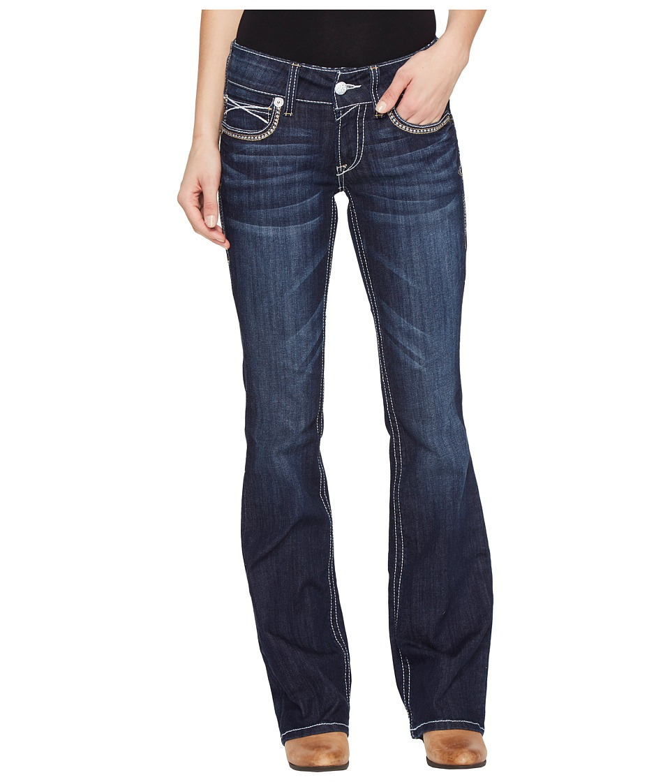 Ariat - R.E.A.L. Low Rise Boot Julia (Elmwood) Women's Jeans