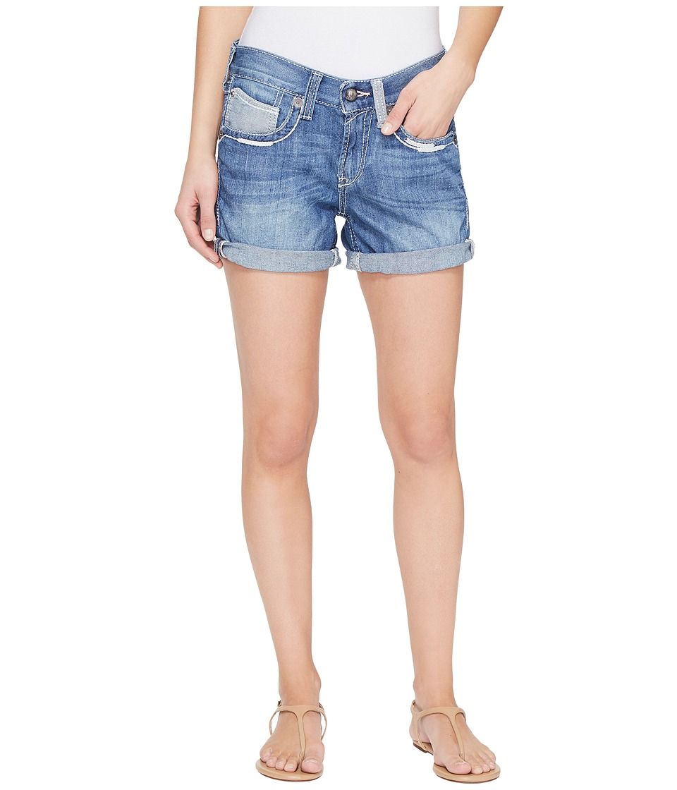 Ariat - Boyfriend Shorts Amalia (Azure) Women's Shorts