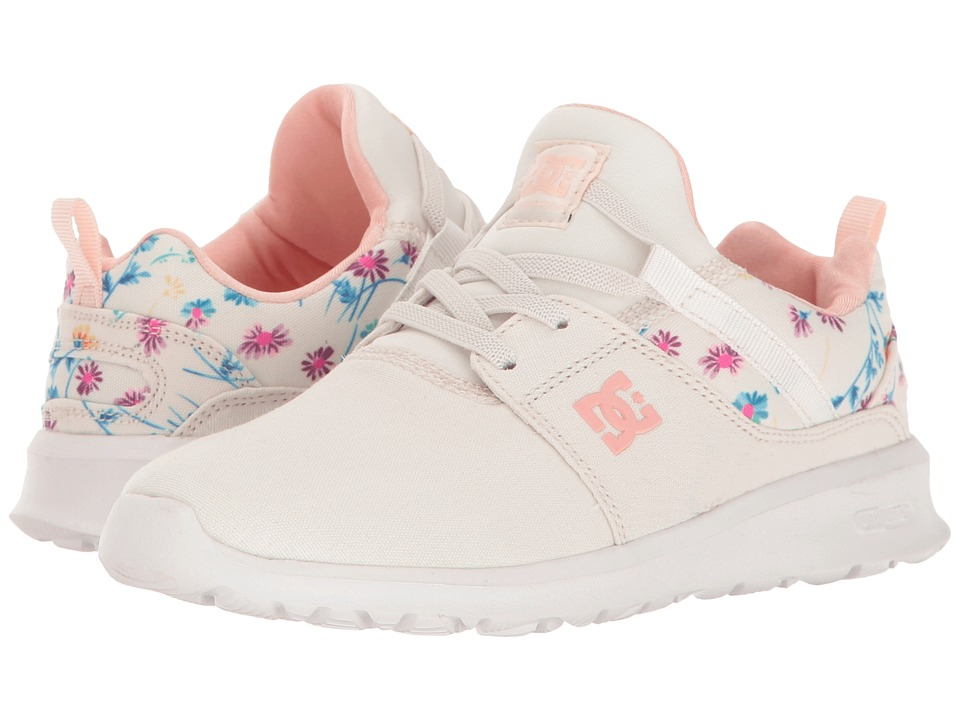 DC Kids - Heathrow SP (Little Kid/Big Kid) (Cream) Girls Shoes