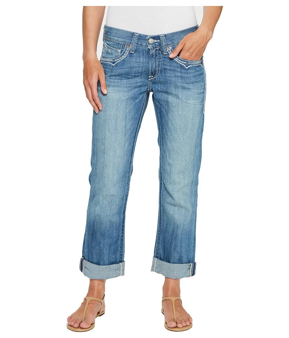 Ariat - Boyfriend Americana (Azure) Women's Jeans
