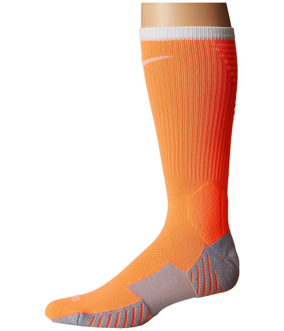 Nike Stadium Football Crew (Tart/Wolf Grey/White) Crew Cut Socks Shoes