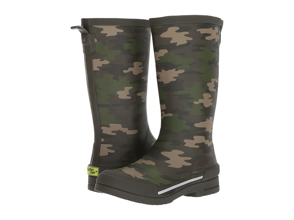 Western Chief Kids Classic Ex Camo Rain Boot (Little Kid/Big Kid) (Olive) Boys Shoes