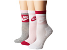 Nike Nike - Striped Low Quarter Socks 3-Pair