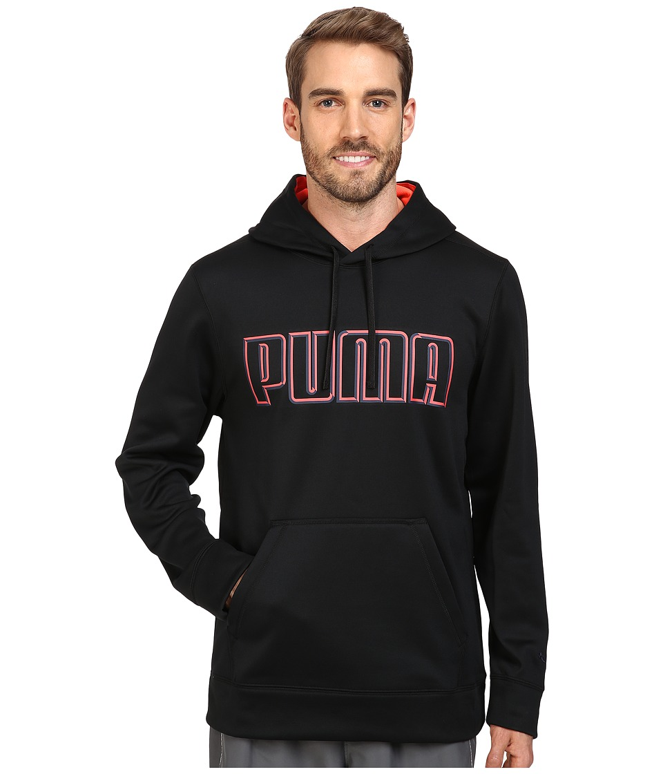 PUMA - High Shine Hoodie (Black) Men's Sweatshirt