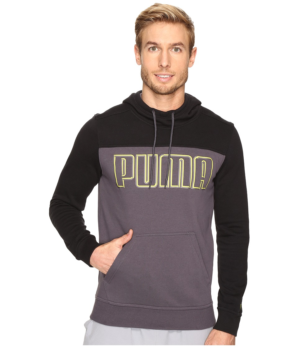 PUMA - FT Hoodie (Periscope/Black) Men's Sweatshirt