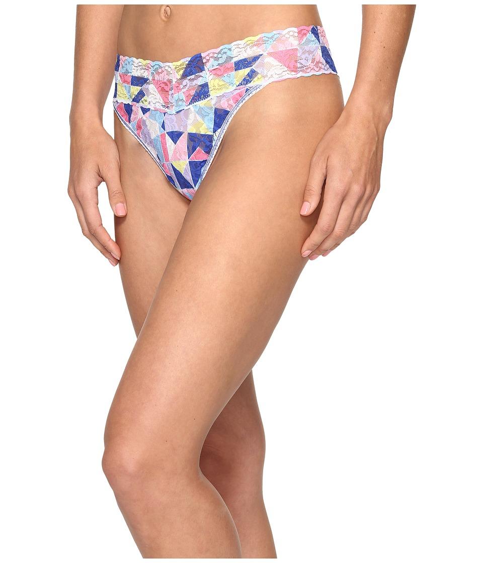 Hanky Panky - Tangram Original Rise Thong (Multi) Women's Underwear