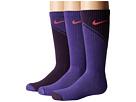 Nike Kids - Multi-Graphic Cotton Socks 3-Pair Pack