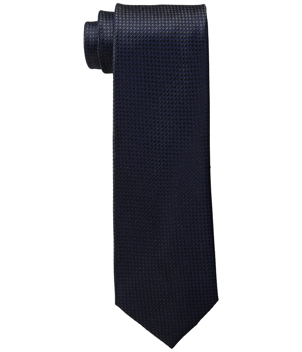 MICHAEL Michael Kors - Double Stitch Unsolid Solid (Black) Ties