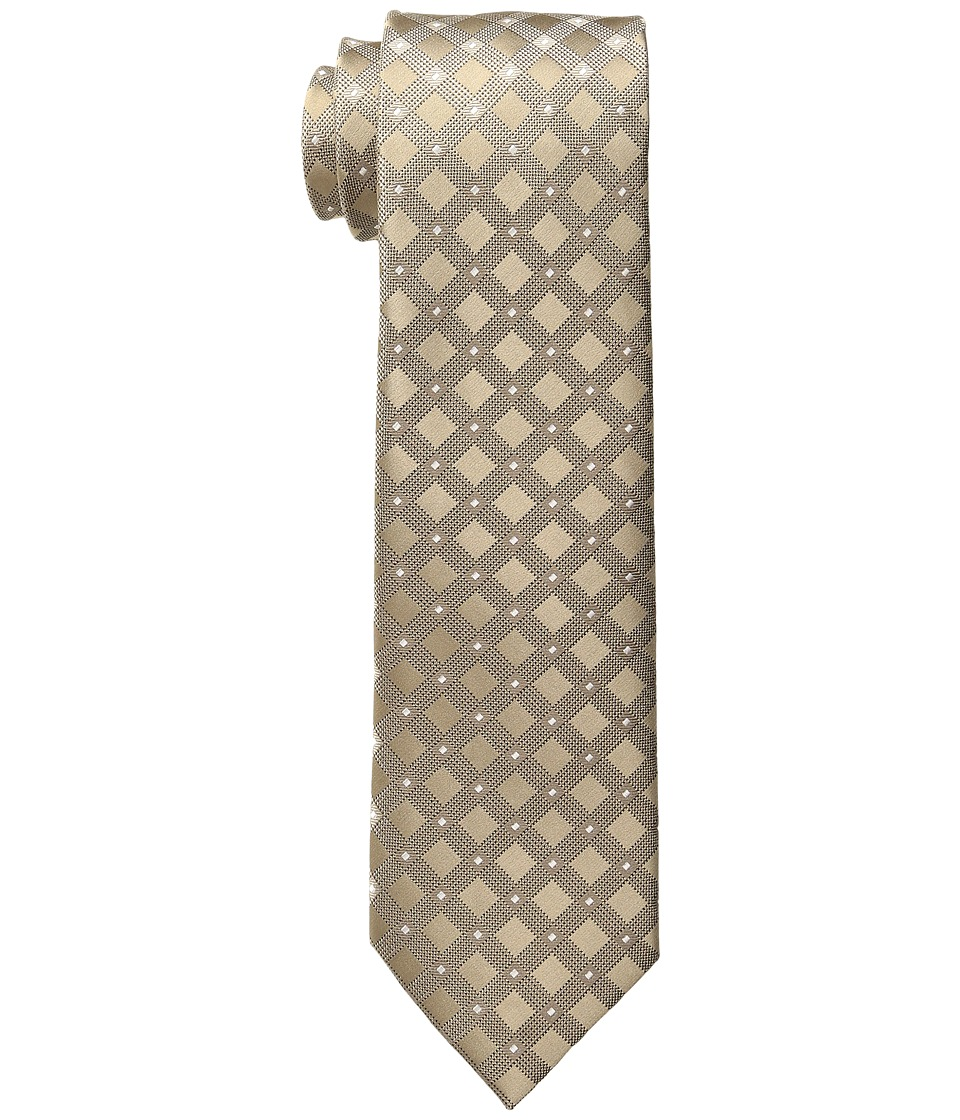 MICHAEL Michael Kors - Speckled Grid w/ Pip (Taupe) Ties