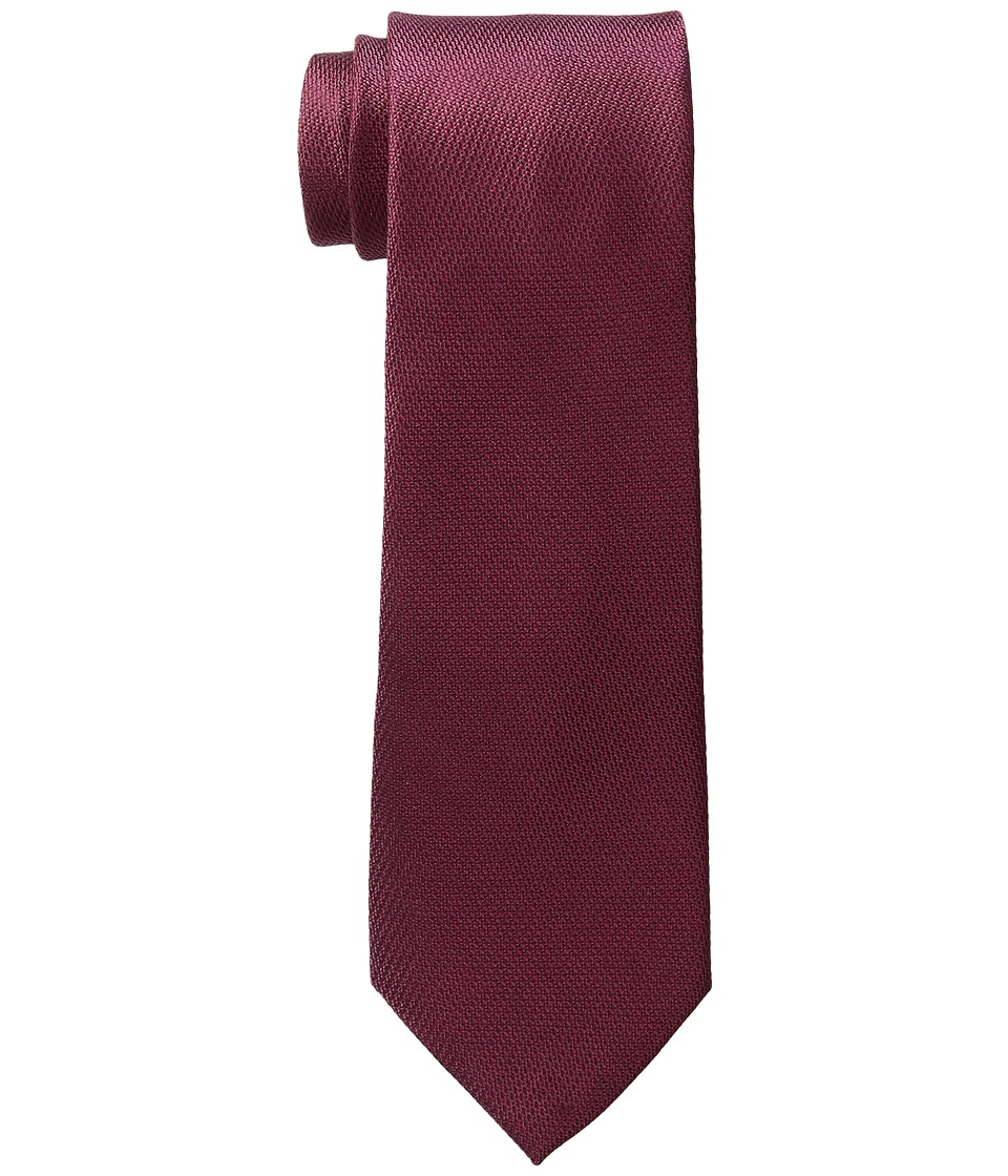 MICHAEL Michael Kors - Looped Solid (Burgundy) Ties