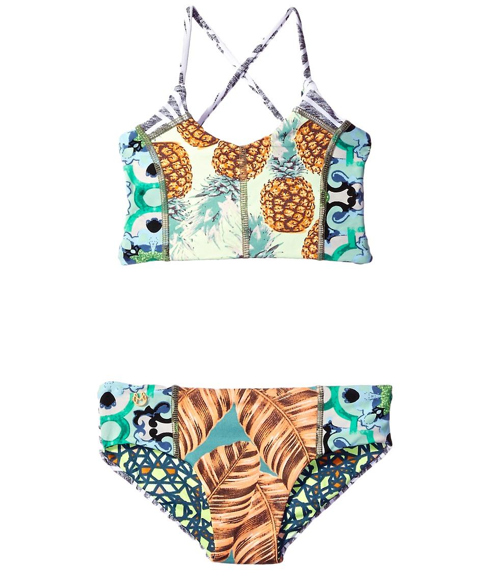 Maaji Kids - Slim's Bliss Bikini Set (Toddler/Little Kids/Big Kids) (Multicolor) Girl's Swimwear Sets