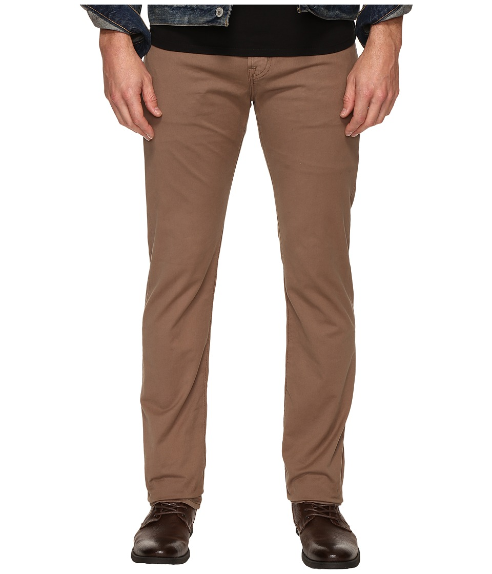 AG Adriano Goldschmied - Matchbox Slim Straight Twill Pants in Baked Clay (Baked Clay) Men's Casual Pants