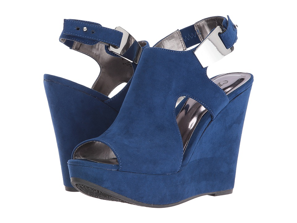 CARLOS by Carlos Santana - Malor (Sapphire Blue) Women's Wedge Shoes