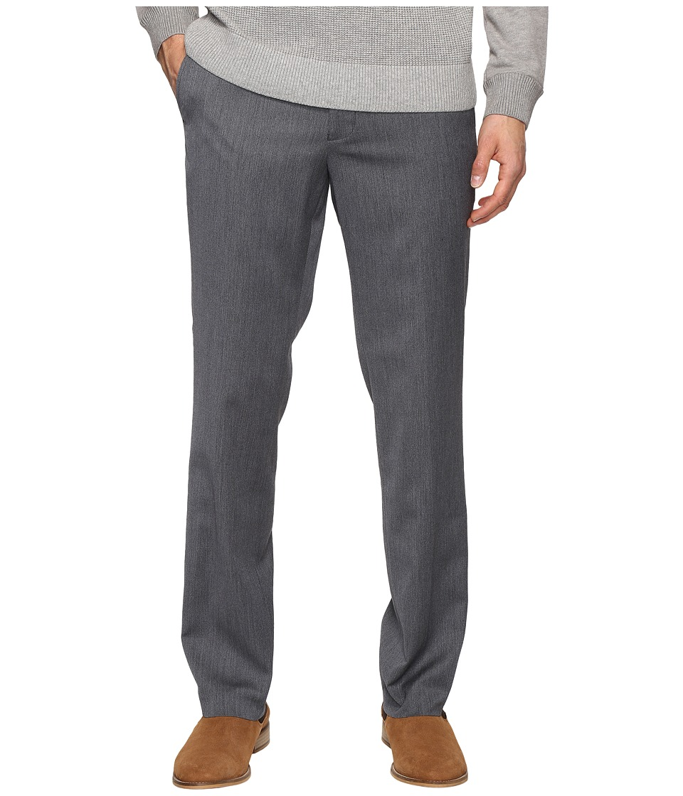 Kenneth Cole Reaction - Techni-Cole Stretch Pants (Light Grey) Men's Dress Pants