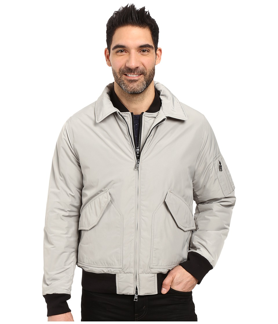 Nautica - Military Bomber Jacket (Seashore Grey) Men's Coat