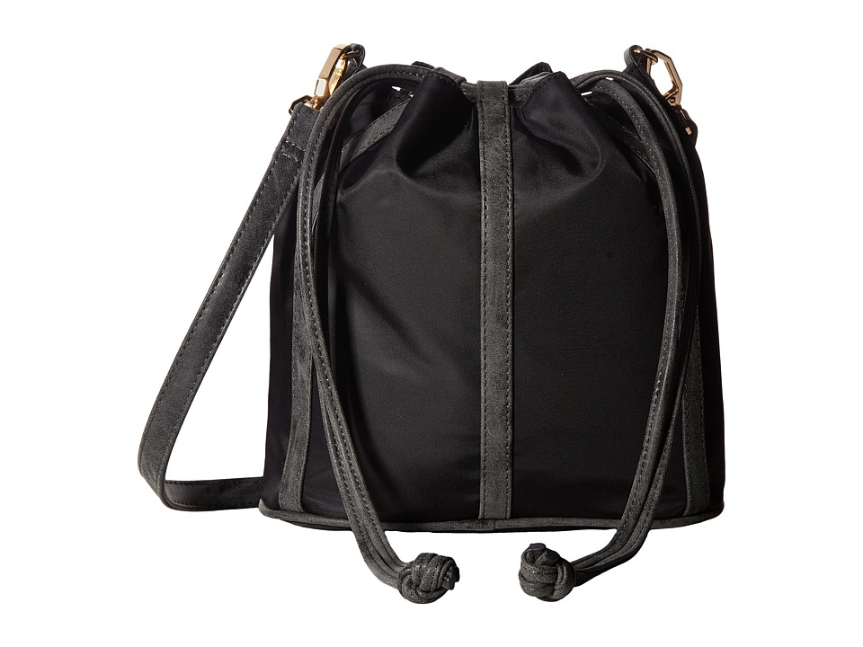 Deux Lux - Linden Nylon Bucket Bag (Black) Bags