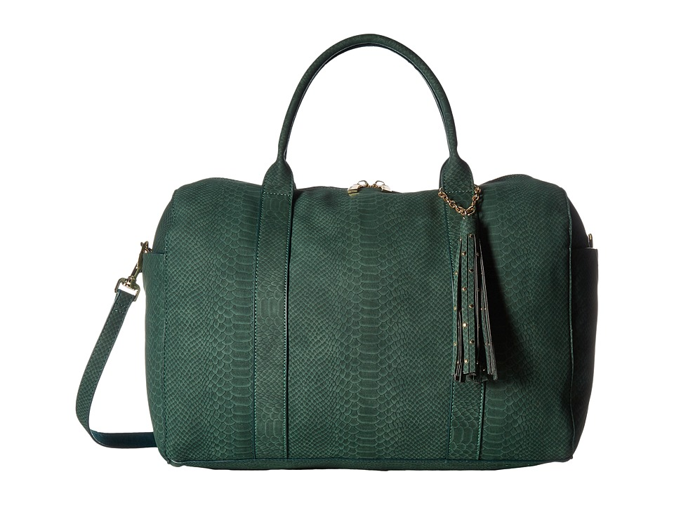 Deux Lux - Sydney Snake Weekender with Tassel (Hunter) Weekender/Overnight Luggage