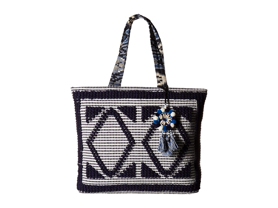 Steven - Zita Tote (Navy) Tote Handbags