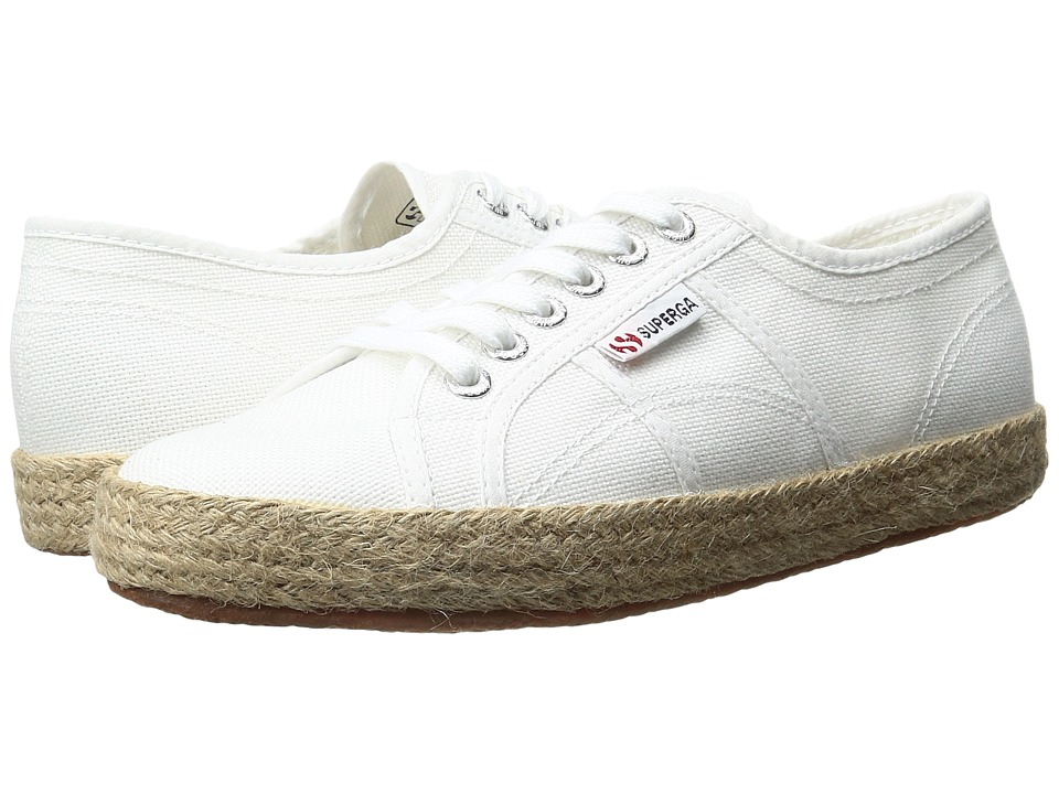 Superga - 2750 Cotropew (White Canvas) Women's Shoes