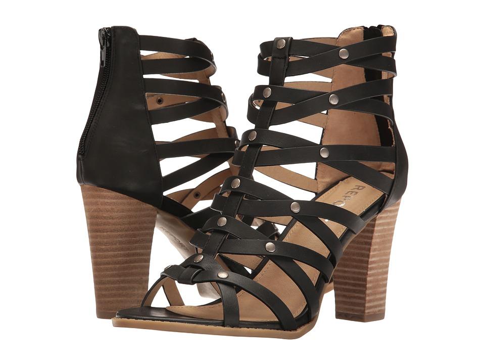 Report Reeta (Black Synthetic) High Heels