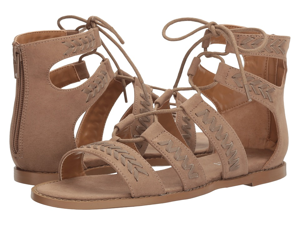 Report - Zendaya (Taupe Synthetic) Women's Sandals
