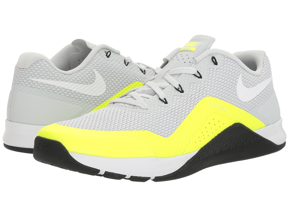 Nike - Repper DSX (Pure Platinum/White/Volt/Black) Men's Cross Training Shoes