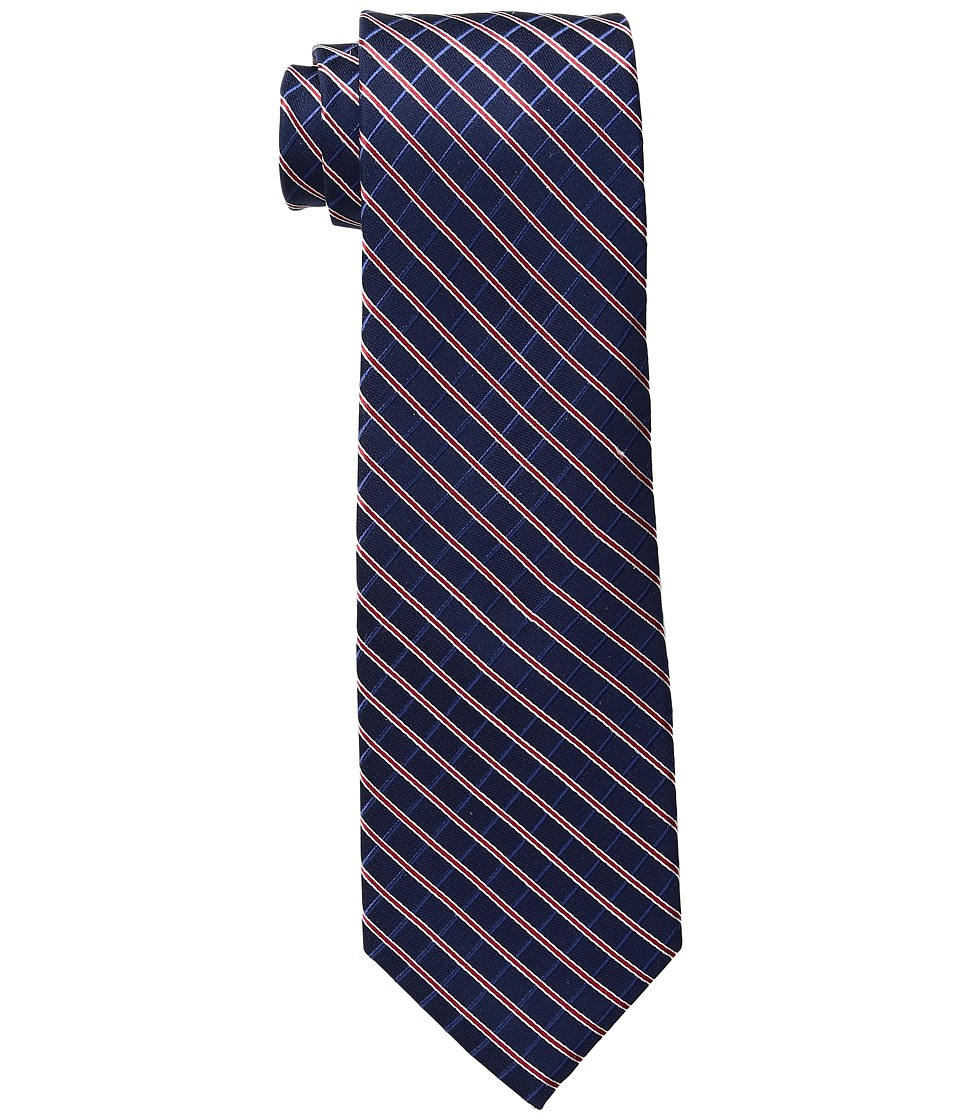 Tommy Hilfiger - Red Group Grids (Deep Red) Ties