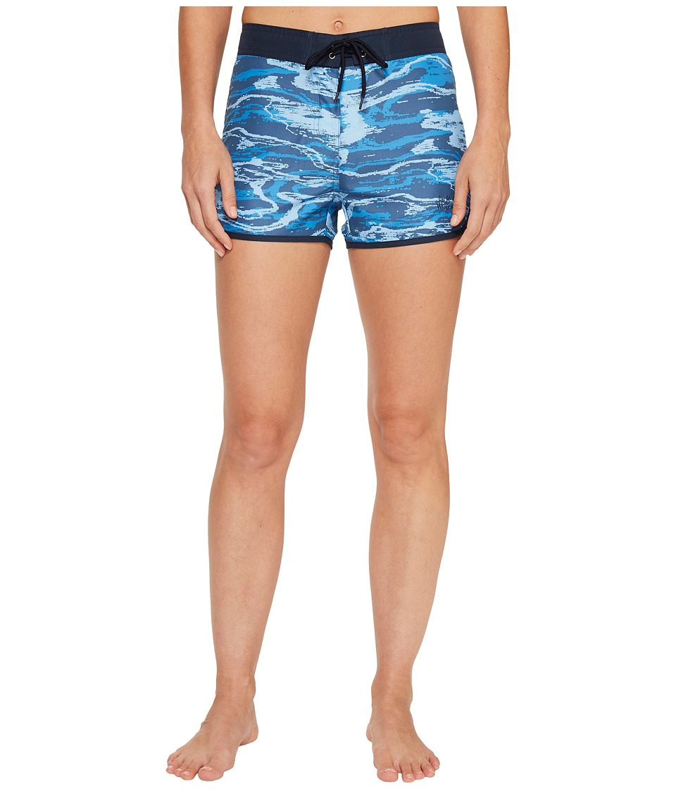 Jack Wolfskin - Laguna Boardshorts (Ocean Wave All Over) Women's Swimwear