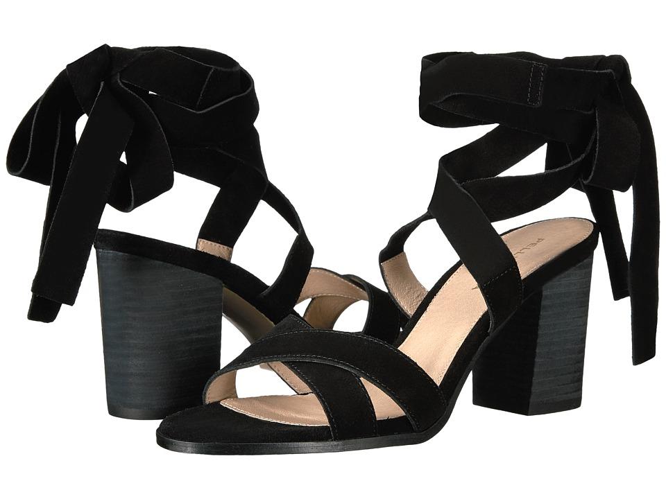 Pelle Moda - Bonjour (Black Suede) Women's Shoes