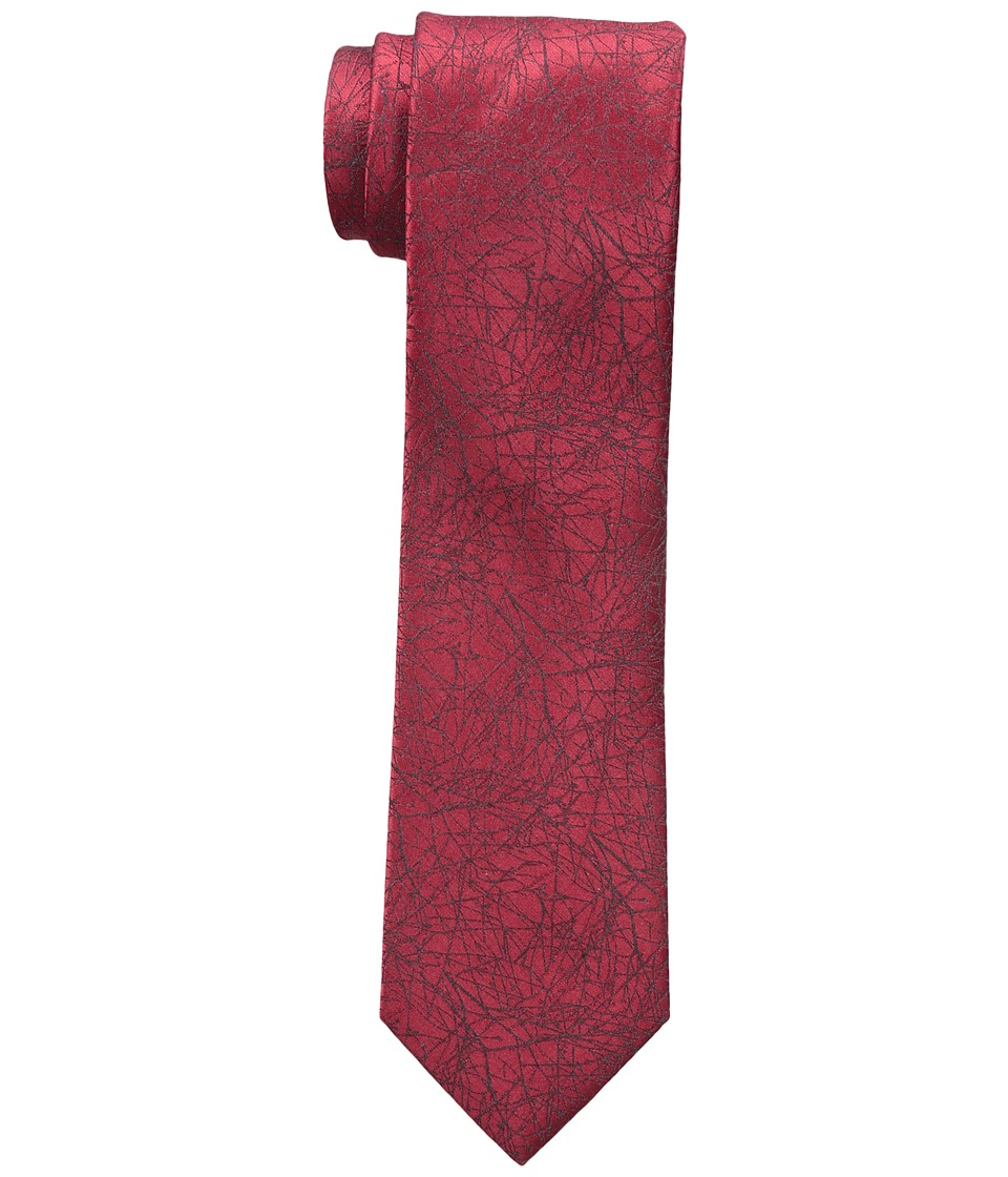 Calvin Klein - Red Hot Branches (Red) Ties