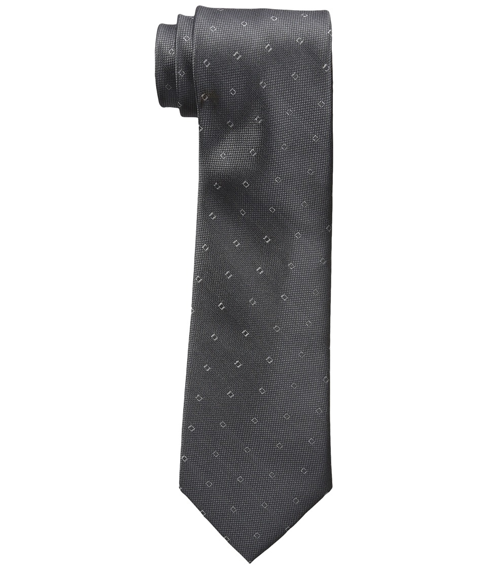Calvin Klein - Glitter Square (Charcoal) Ties