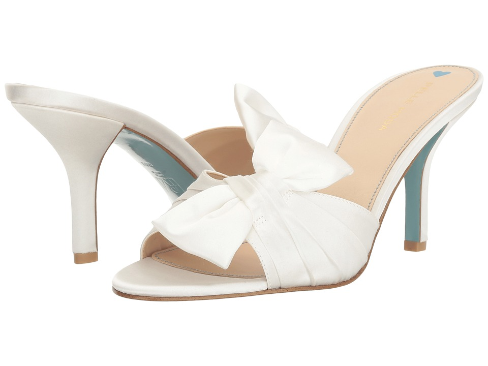 Pelle Moda - Riri (White Satin) Women's Shoes