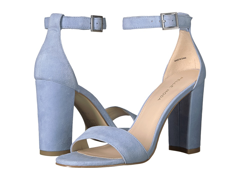 Pelle Moda - Bonnie (Powder Blue Suede) Women's Shoes