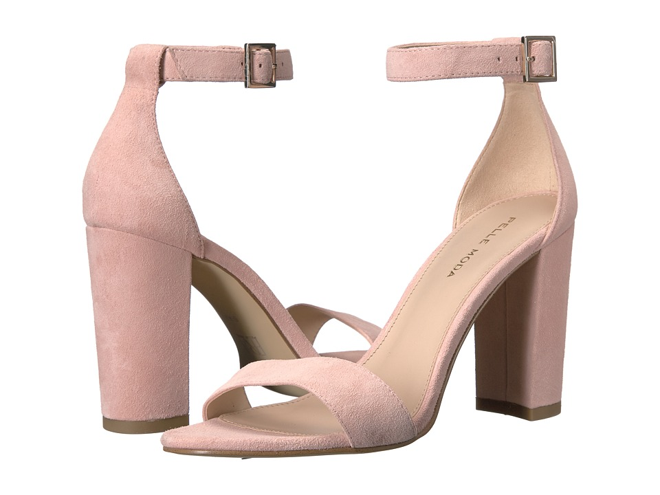 Pelle Moda - Bonnie (Pale Pink Suede) Women's Shoes