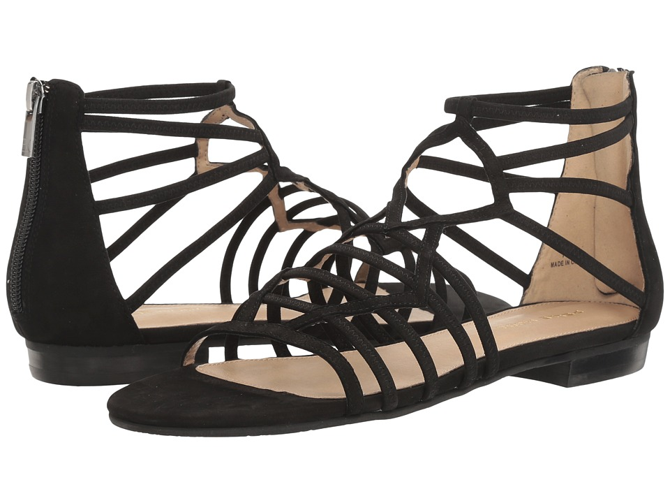 Pelle Moda - Brazil (Black Nubuck) Women's Shoes
