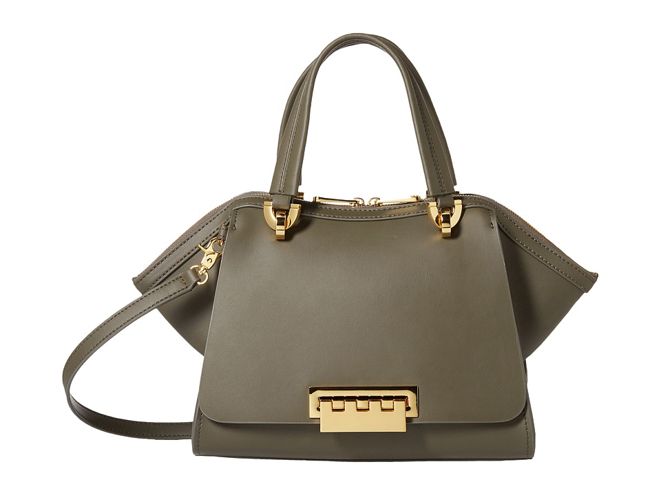 ZAC Zac Posen - Eartha Iconic Small Double Handle (Olive) Handbags