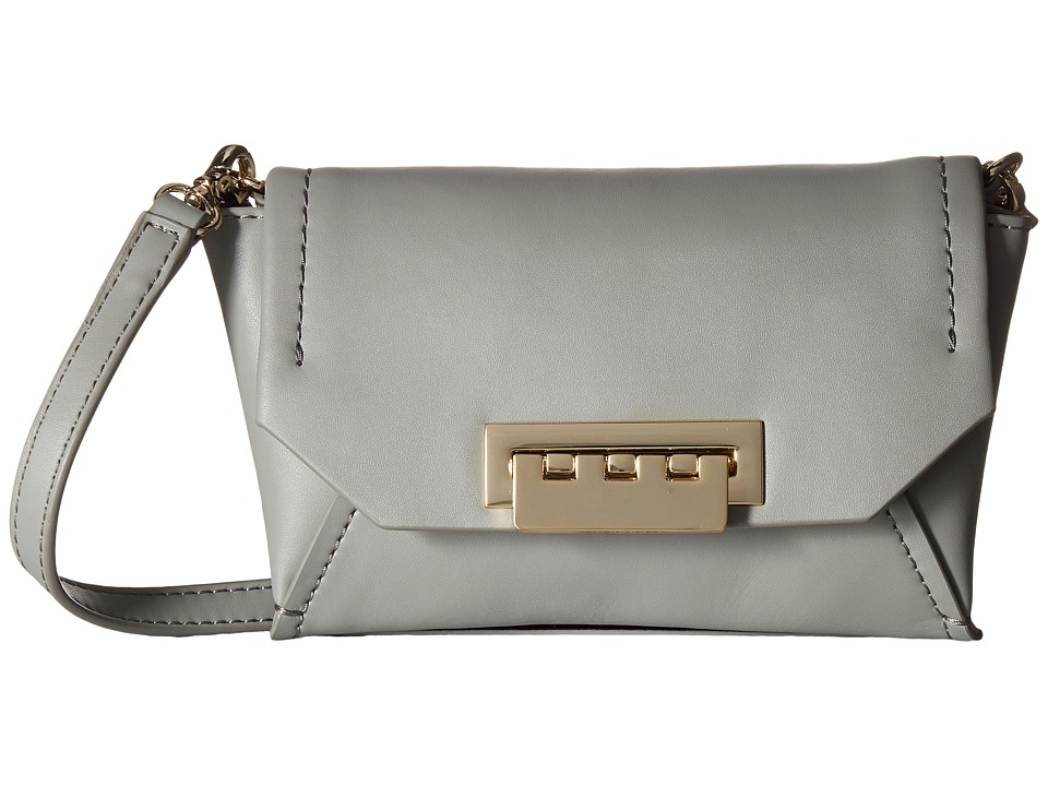 ZAC Zac Posen - Eartha Envelope Crossbody (Dark Grey) Cross Body Handbags