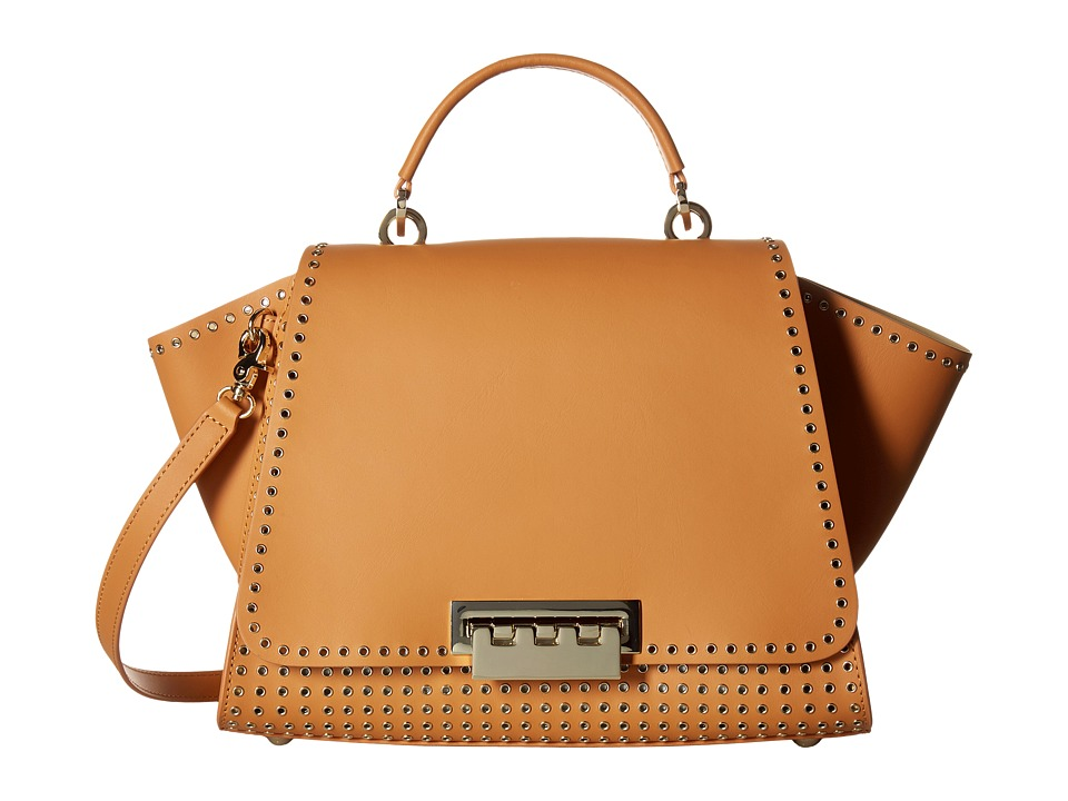 ZAC Zac Posen - Eartha Iconic Soft Top-Handle (Apricot) Top-handle Handbags